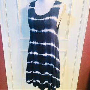 Poetry Tie Dye Print Knit Tank Dress Size M